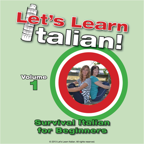Product picture Survival Italian for Beginners, Vol 1 - 10 Directions/Farmac
